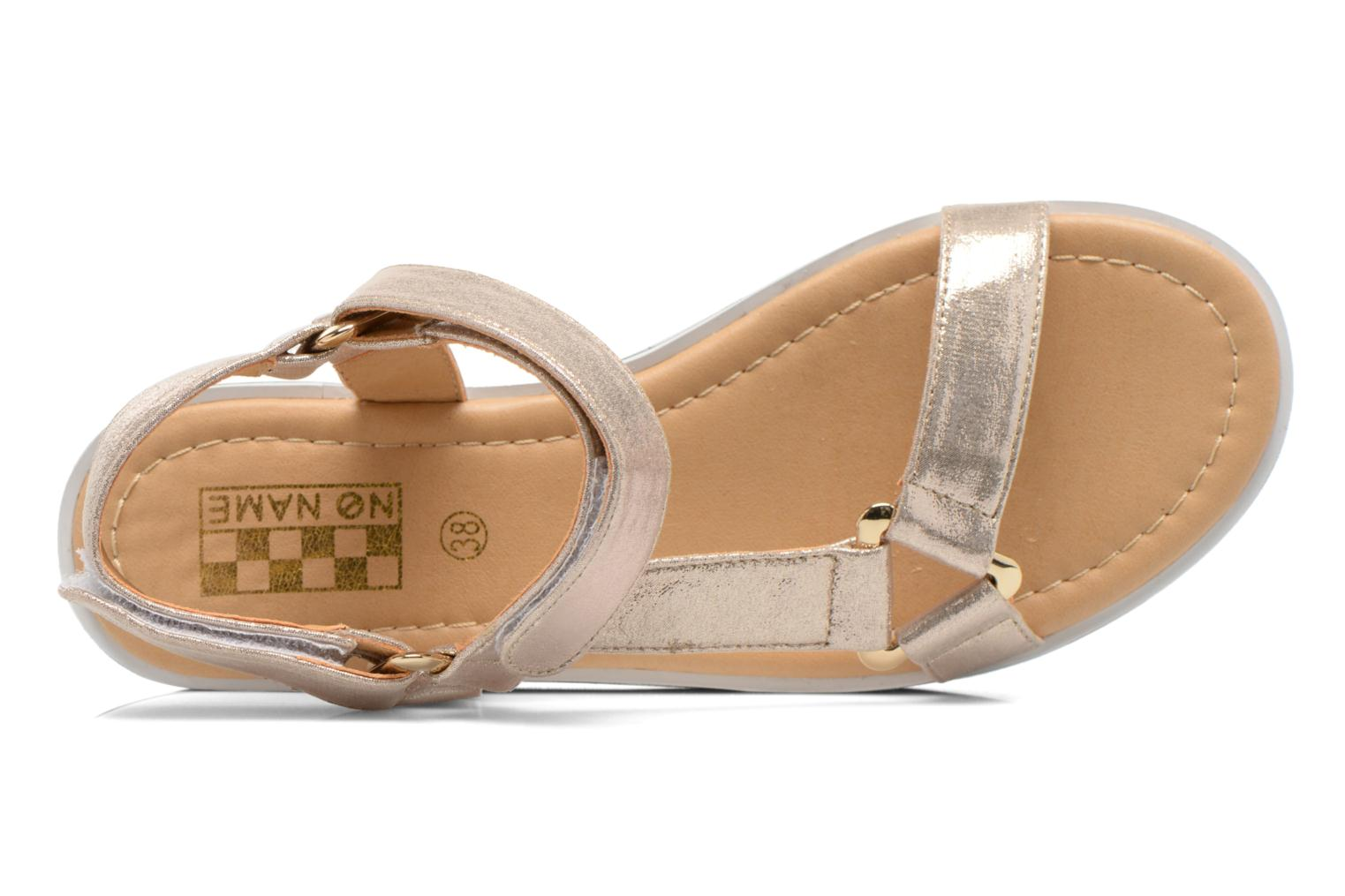 Sandals No Name Bhama Sandal Bronze and Gold view from the left