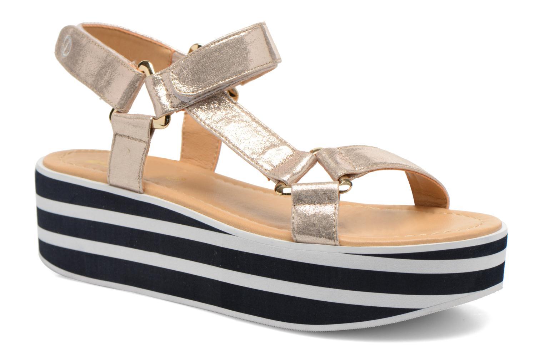Sandaler No Name Bhama Sandal Guld og bronze detaljeret billede af skoene
