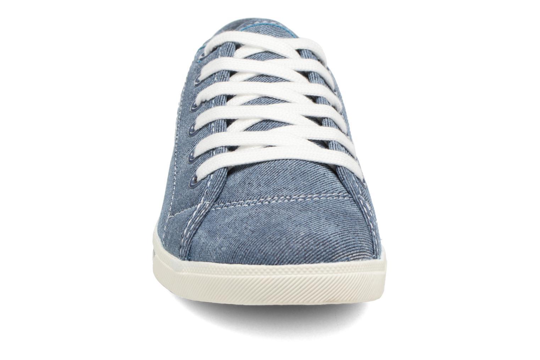 Baskets Dockers Soli Bleu vue portées chaussures
