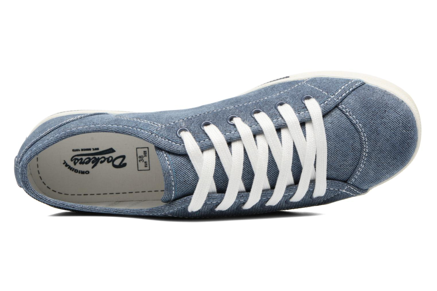 Trainers Dockers Soli Blue view from the left