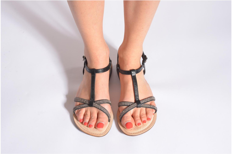 Sandalen Dockers Paola braun ansicht von unten / tasche getragen