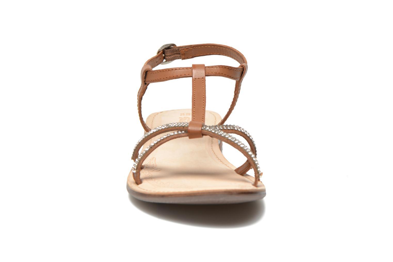 Sandalen Dockers Paola braun schuhe getragen