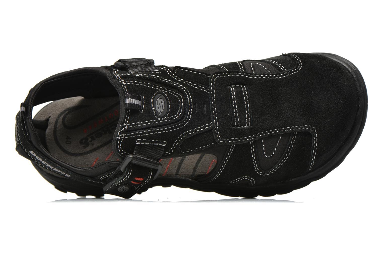 Sandales et nu-pieds Dockers Roger Noir vue gauche