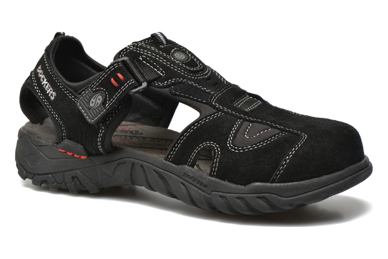 Sandaler Dockers Roger Sort detaljeret billede af skoene
