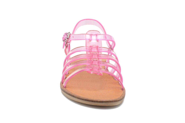 Sandales et nu-pieds Méduse Bora Rose vue portées chaussures