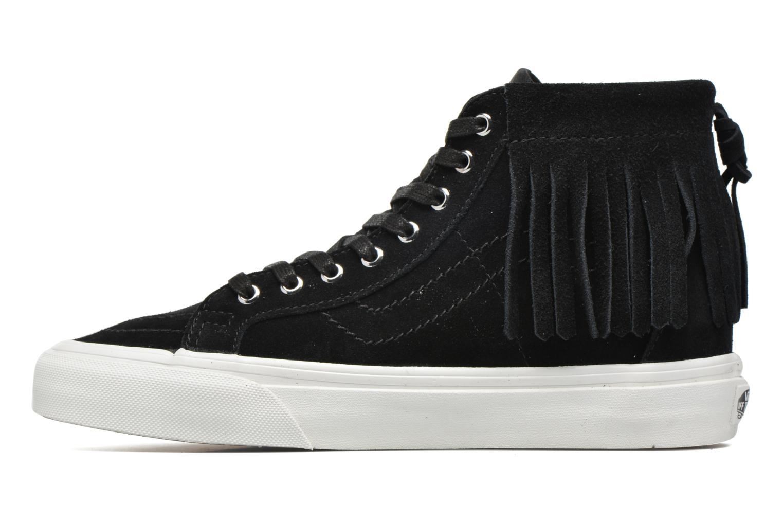 Sneakers Vans SK8-Hi Moc Zwart voorkant