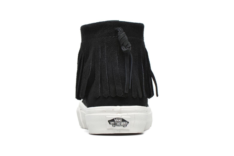 Baskets Vans SK8-Hi Moc Noir vue droite