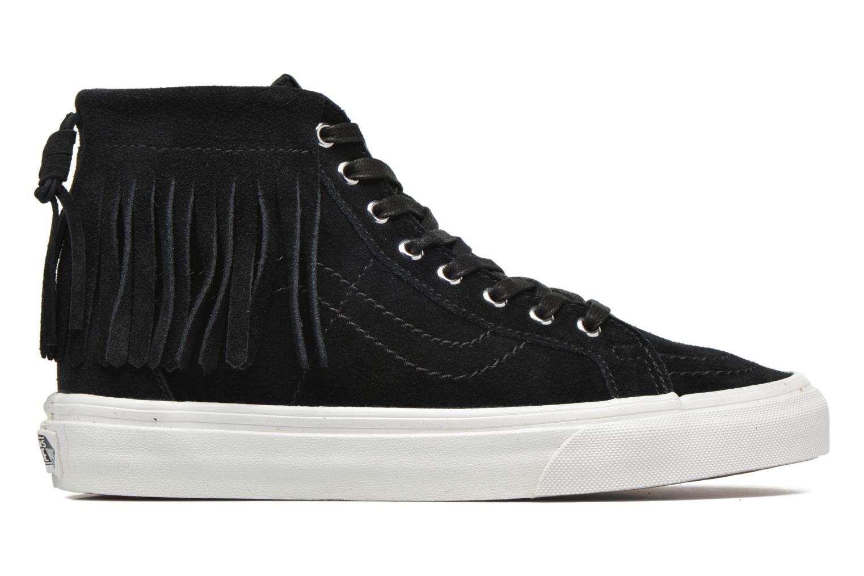 Sneakers Vans SK8-Hi Moc Zwart achterkant