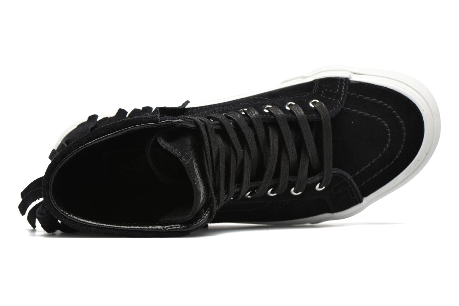 Trainers Vans SK8-Hi Moc Black view from the left