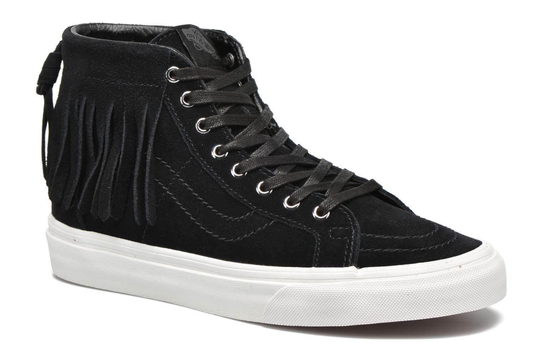 Sneakers Vans SK8-Hi Moc Zwart detail