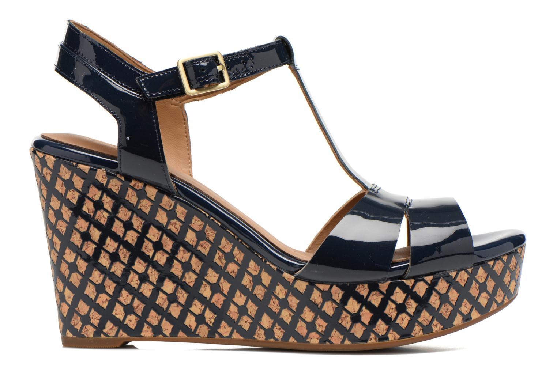 Sandales et nu-pieds Clarks Amelia Roma Bleu vue derrière