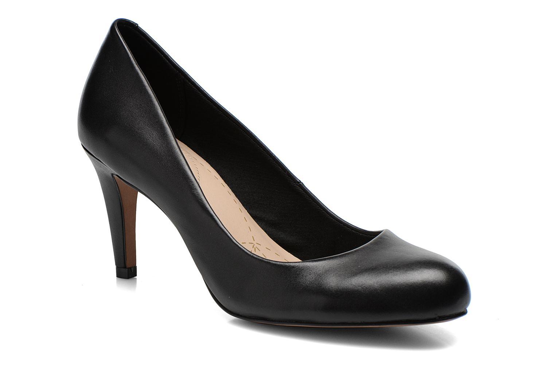Høje hæle Clarks Carlita Cove Sort detaljeret billede af skoene