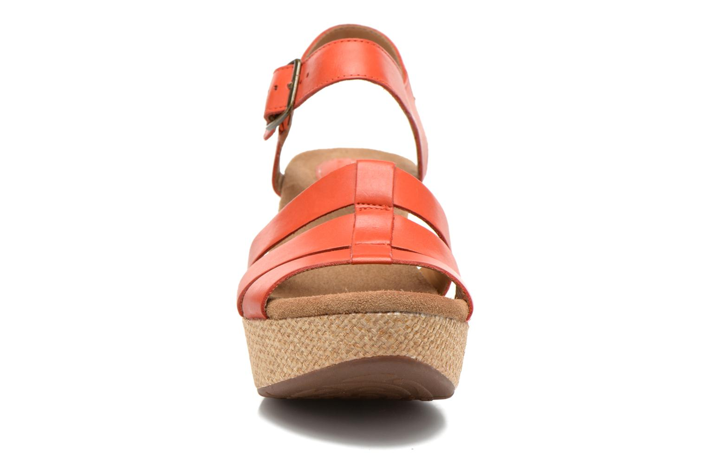 Sandaler Clarks Caslynn Harp Orange se skoene på