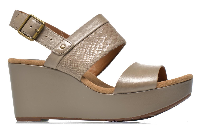 Sandales et nu-pieds Clarks Caslynn Kat Beige vue derrière