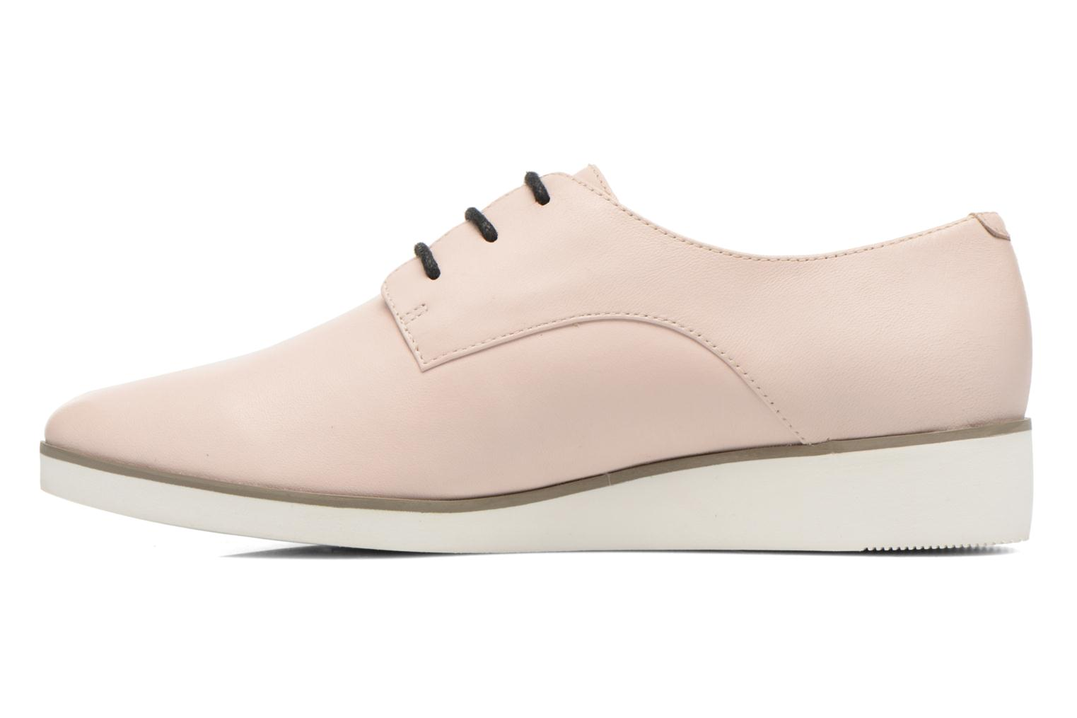 Lace-up shoes Clarks Cressida Grace Pink front view