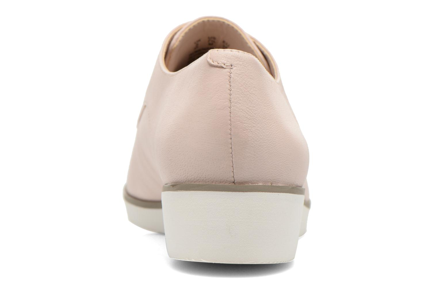 Lace-up shoes Clarks Cressida Grace Pink view from the right