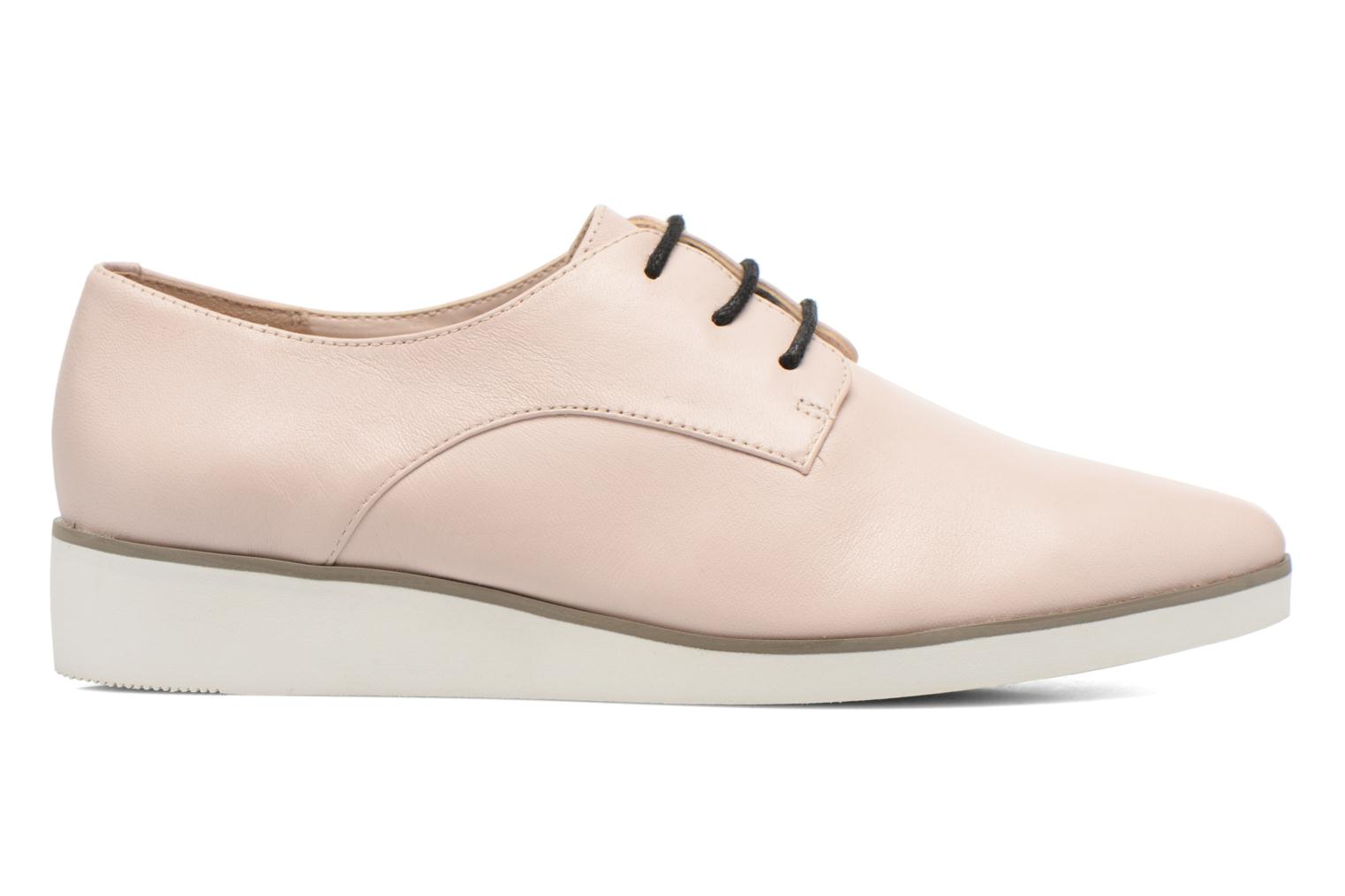 Lace-up shoes Clarks Cressida Grace Pink back view