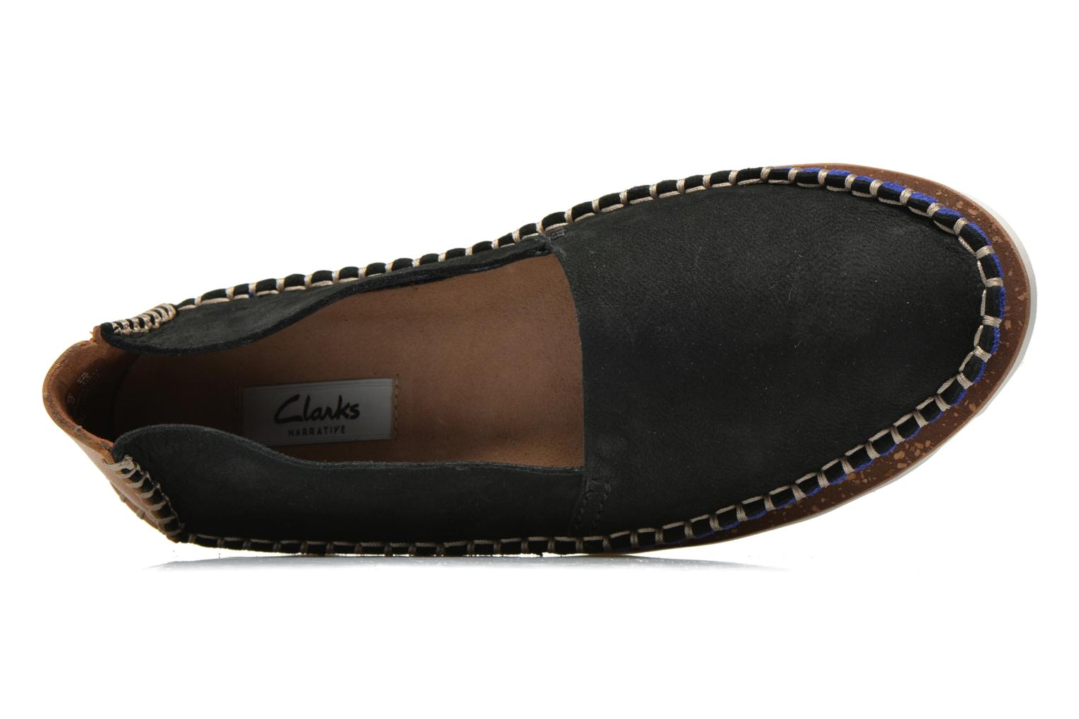 Espadrilles Clarks Damara Chic Black view from the left