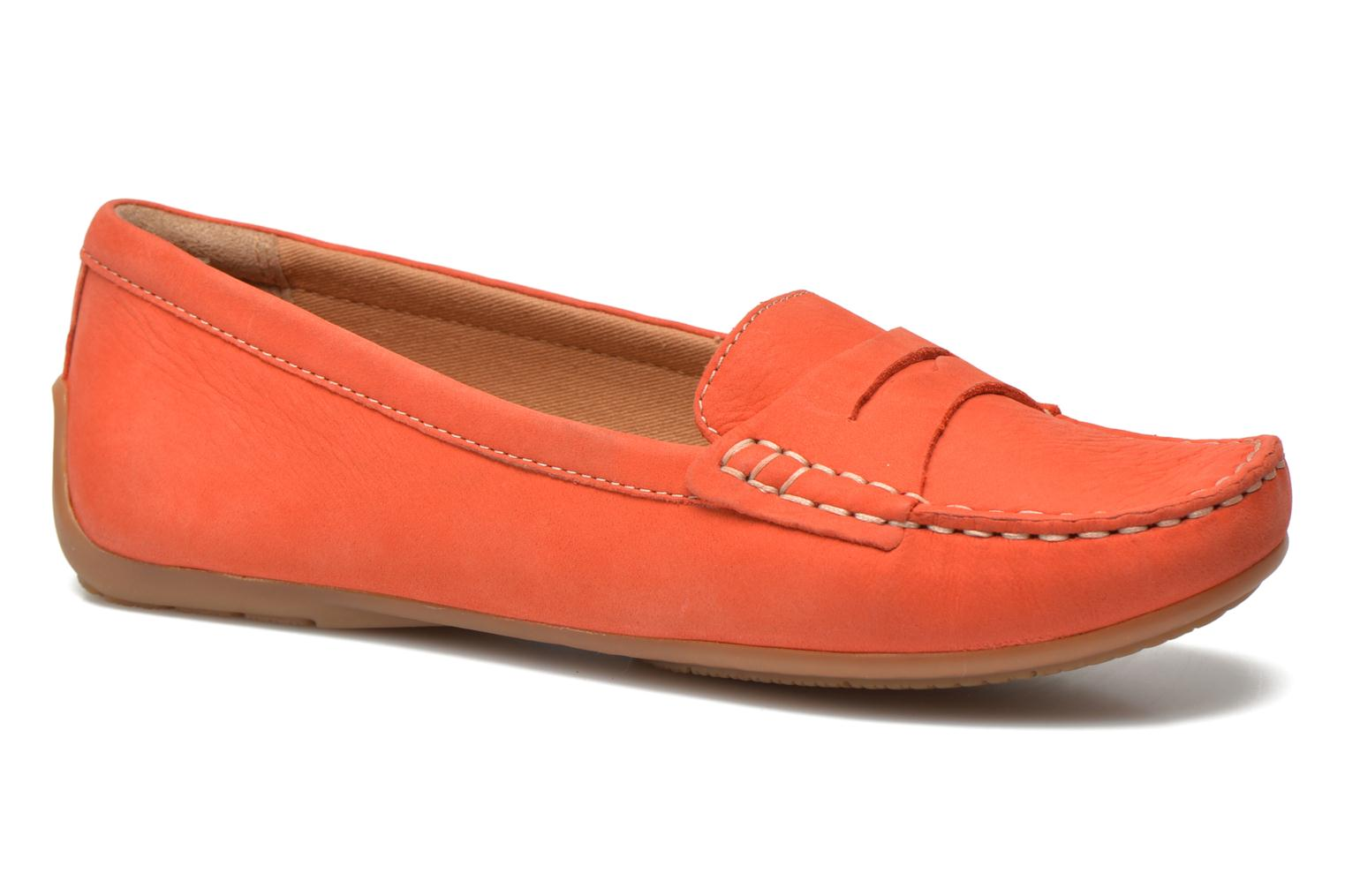 Loafers Clarks Doraville Nest Orange detailed view/ Pair view