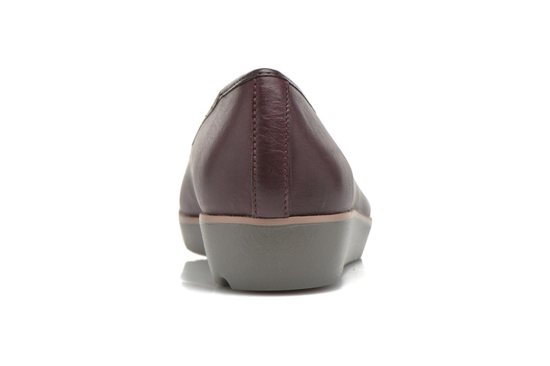 Evie Buzz Aubergine Leather