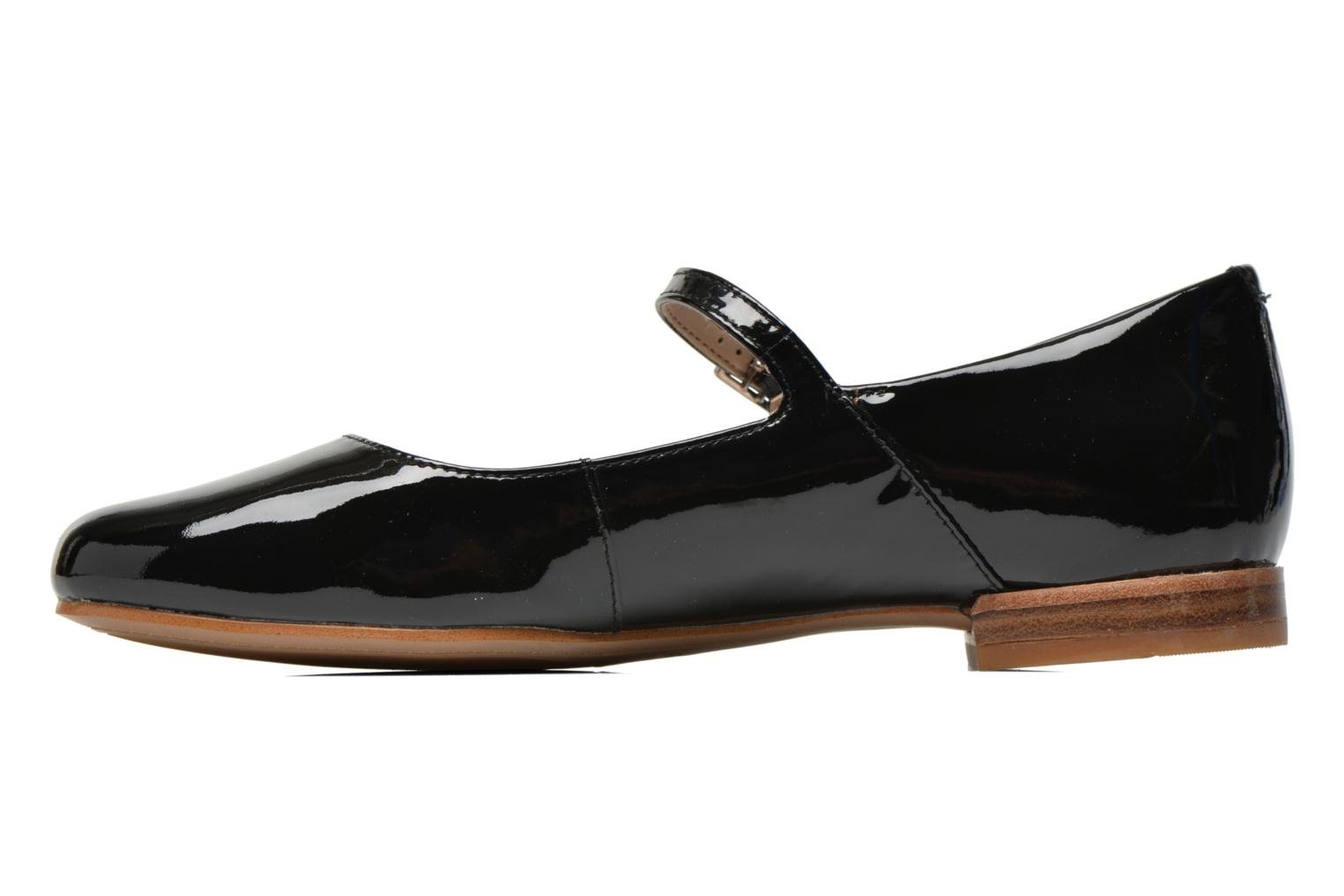 Ballet pumps Clarks Festival Glory Black front view