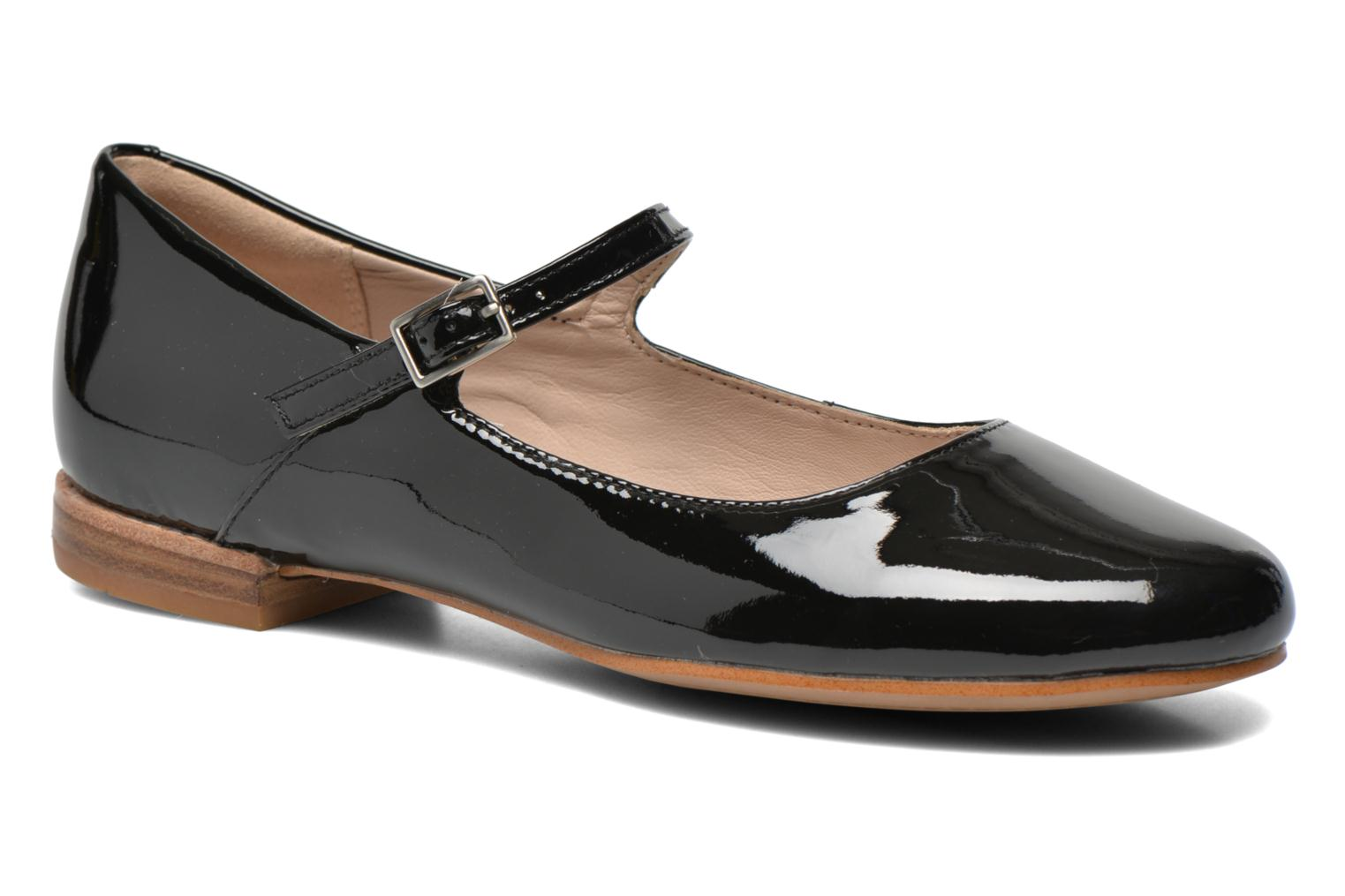 Ballet pumps Clarks Festival Glory Black detailed view/ Pair view