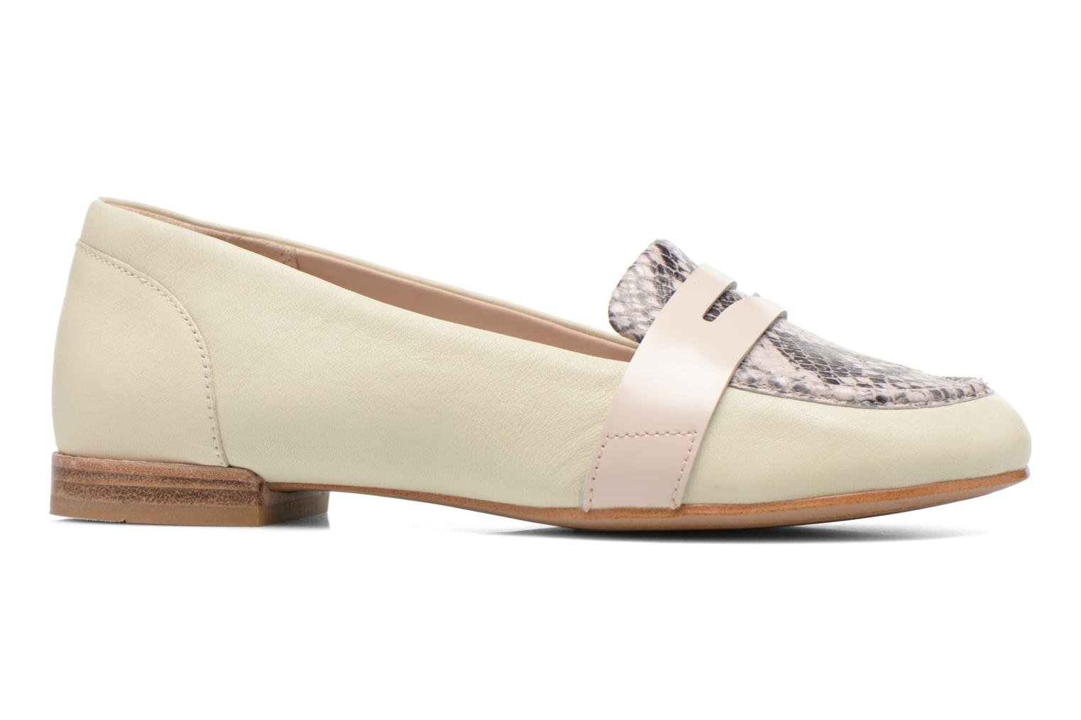 Loafers Clarks Festival Grace Beige back view
