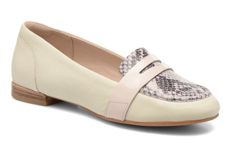 Loafers Clarks Festival Grace Beige detaljeret billede af skoene