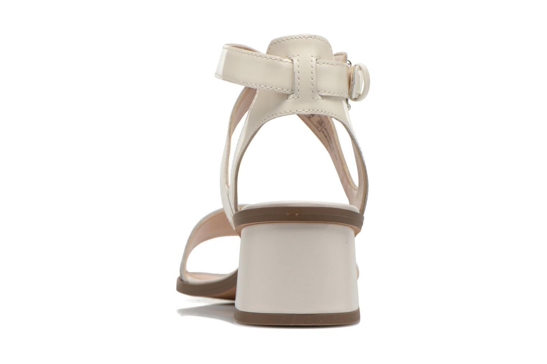 Sandales et nu-pieds Clarks Ivangelie Ray Blanc vue droite