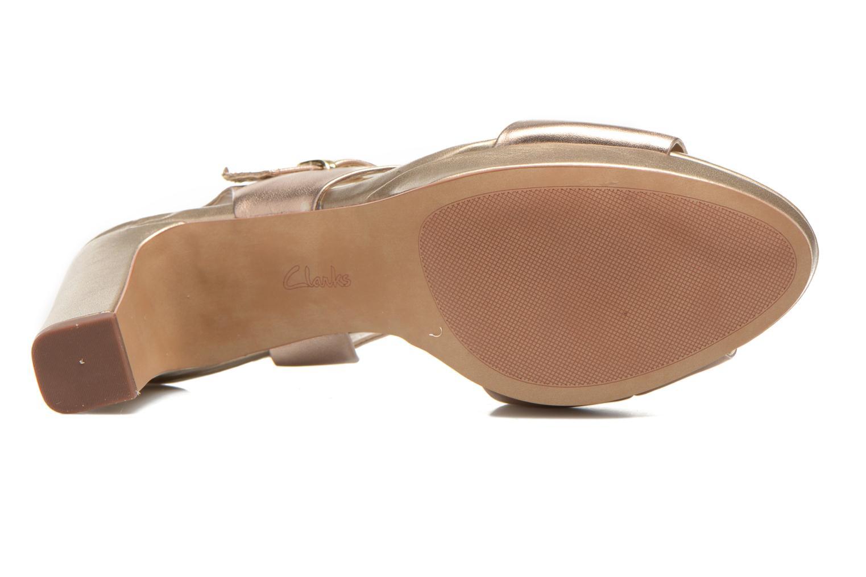 Sandaler Clarks Jenness Soothe Guld og bronze se foroven