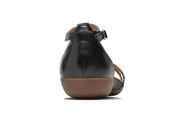 Sandales et nu-pieds Clarks Raffi Star Noir vue droite