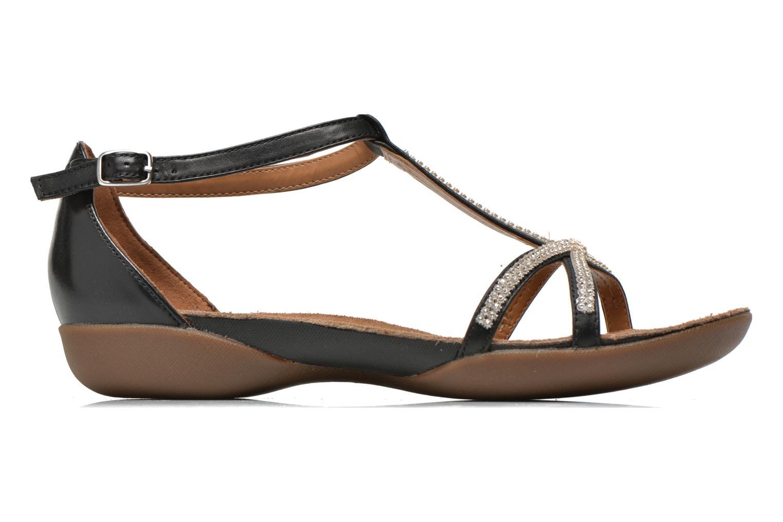 Sandales et nu-pieds Clarks Raffi Star Noir vue derrière