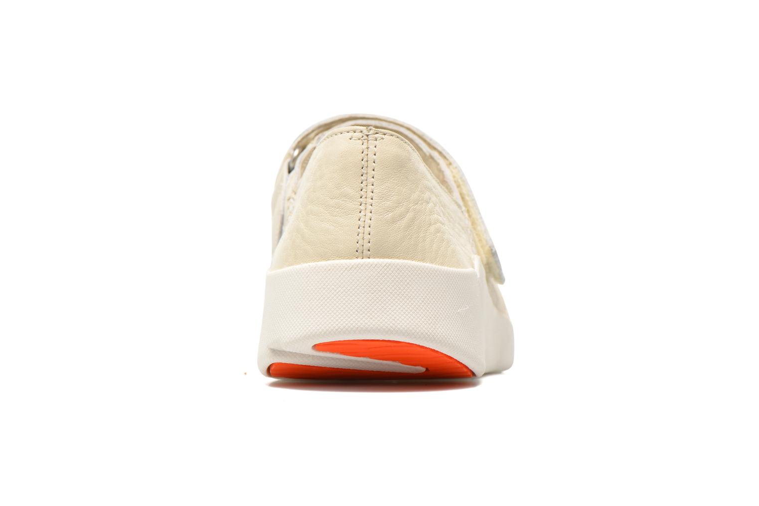 Ballet pumps Clarks Tri Amanda White view from the right