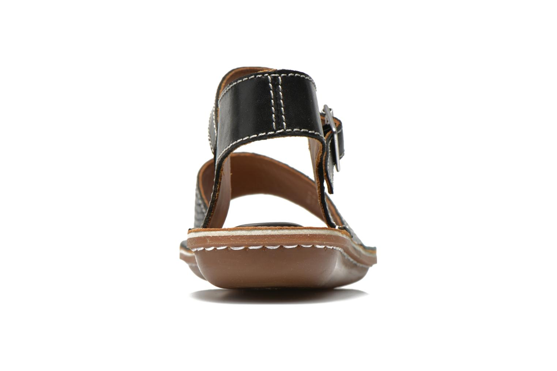 Sandales et nu-pieds Clarks Tustin Sinitta Noir vue droite