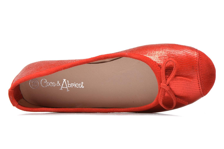 Ballerine Coco et abricot Belline 3 Rosso immagine sinistra