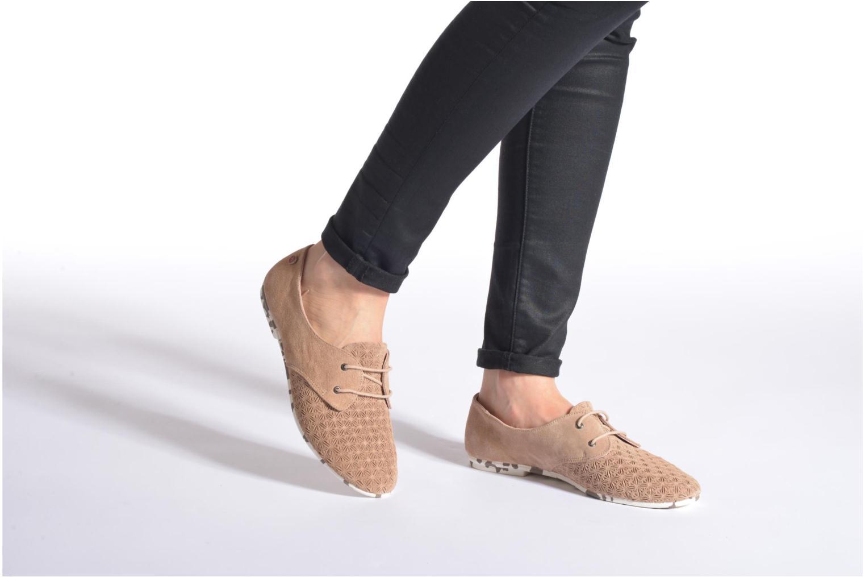 Chaussures à lacets Yum Gum Tove Orange vue bas / vue portée sac