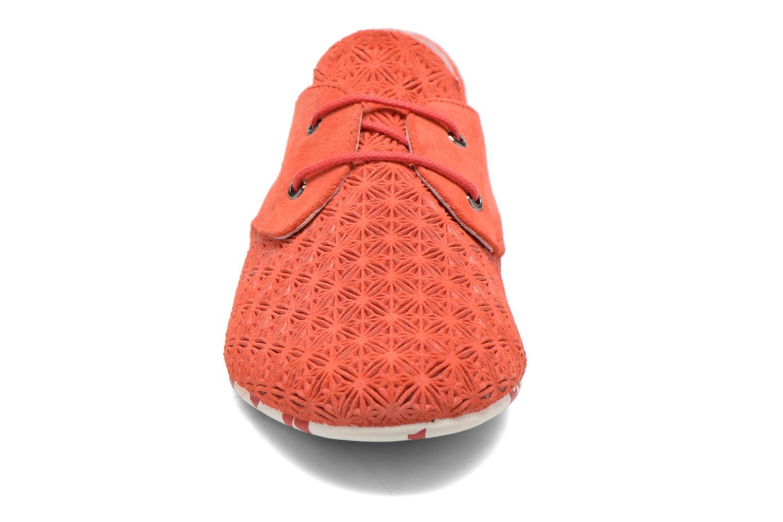 Schnürschuhe Yum Gum Tove orange schuhe getragen