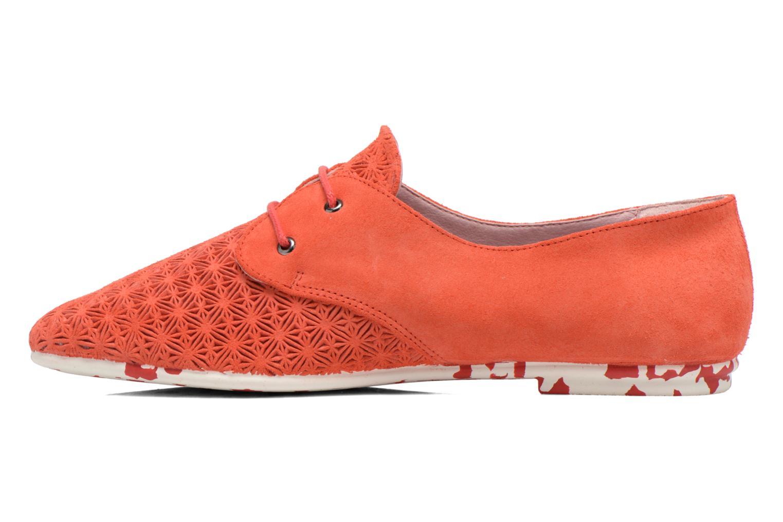 Chaussures à lacets Yum Gum Tove Orange vue face