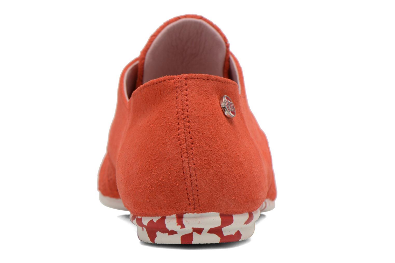 Chaussures à lacets Yum Gum Tove Orange vue droite