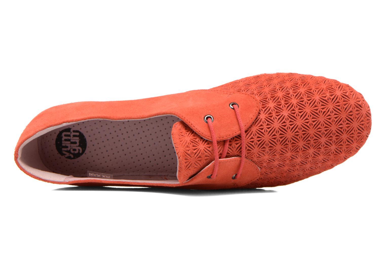 Chaussures à lacets Yum Gum Tove Orange vue gauche