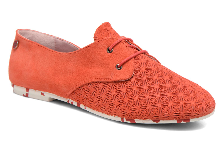 Schnürschuhe Yum Gum Tove orange detaillierte ansicht/modell
