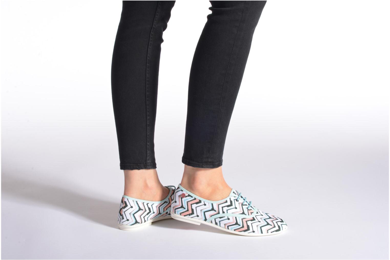 Chaussures à lacets Yum Gum Snipe Multicolore vue bas / vue portée sac