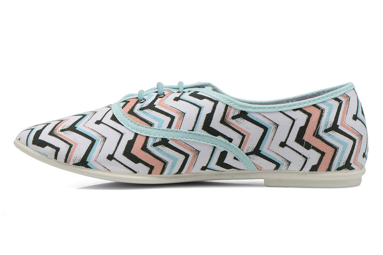 Zapatos con cordones Yum Gum Snipe Multicolor vista de frente