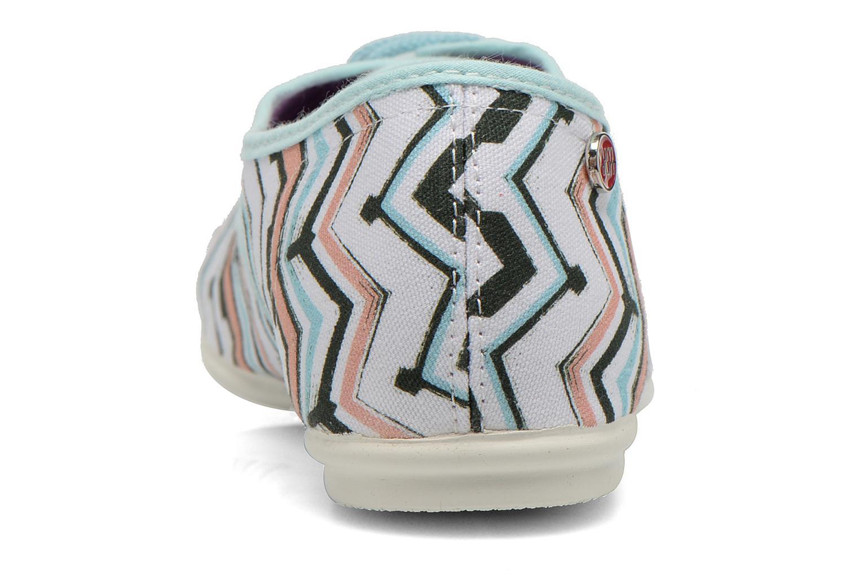 Zapatos con cordones Yum Gum Snipe Multicolor vista lateral derecha