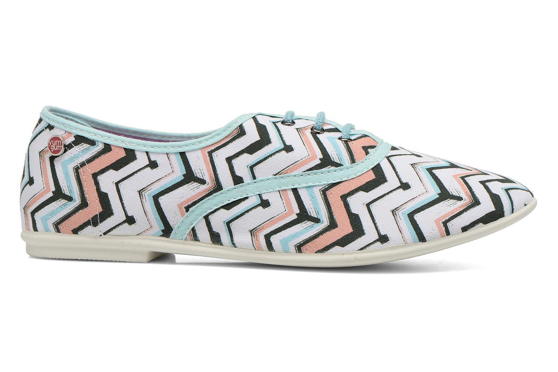Zapatos con cordones Yum Gum Snipe Multicolor vistra trasera
