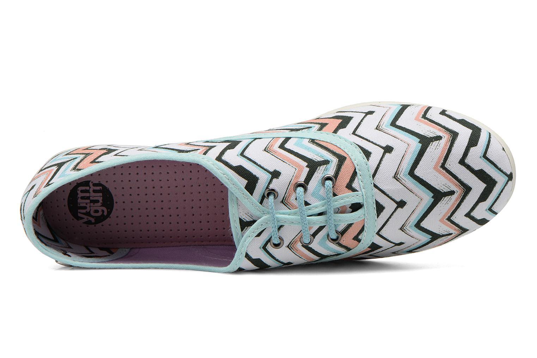 Zapatos con cordones Yum Gum Snipe Multicolor vista lateral izquierda