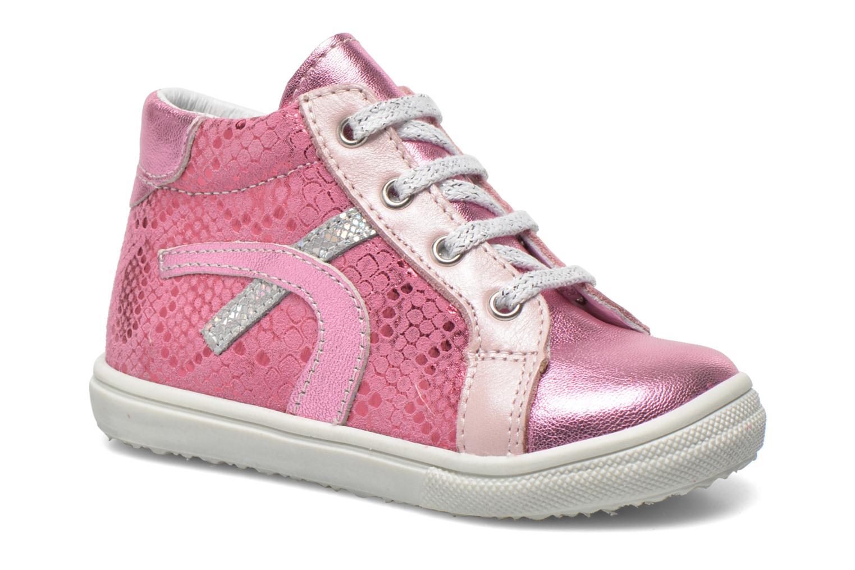 Bottines et boots Bopy Balisoc Rose vue détail/paire