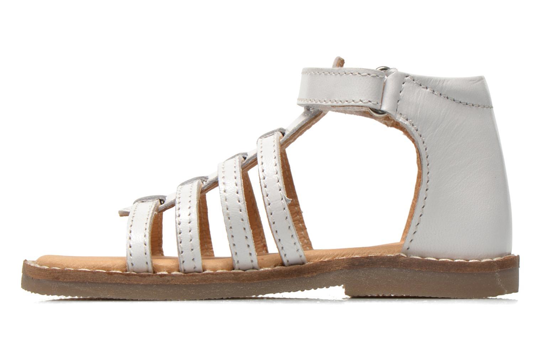 Sandales et nu-pieds Bopy Hamica kouki Blanc vue face