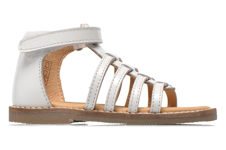 Sandales et nu-pieds Bopy Hamica kouki Blanc vue derrière