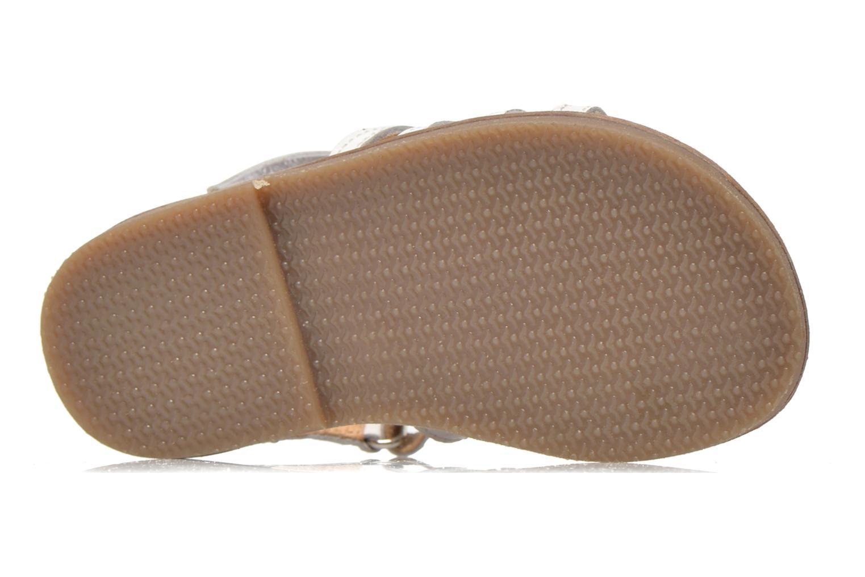 Sandales et nu-pieds Bopy Hamica kouki Blanc vue haut